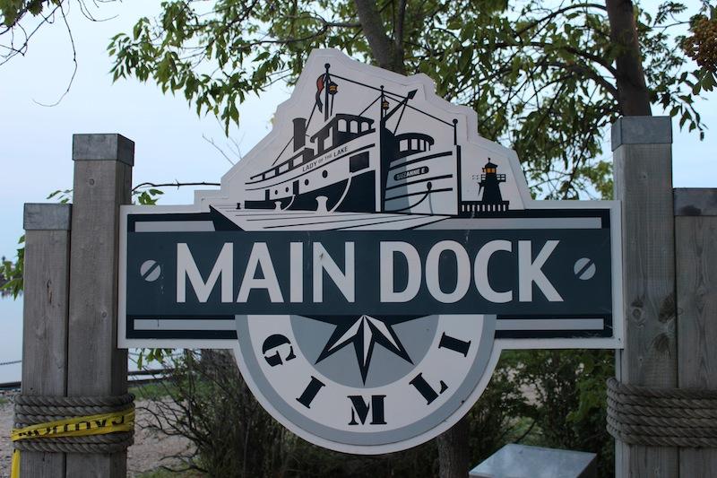 Prairie Ocean Fishing Dock