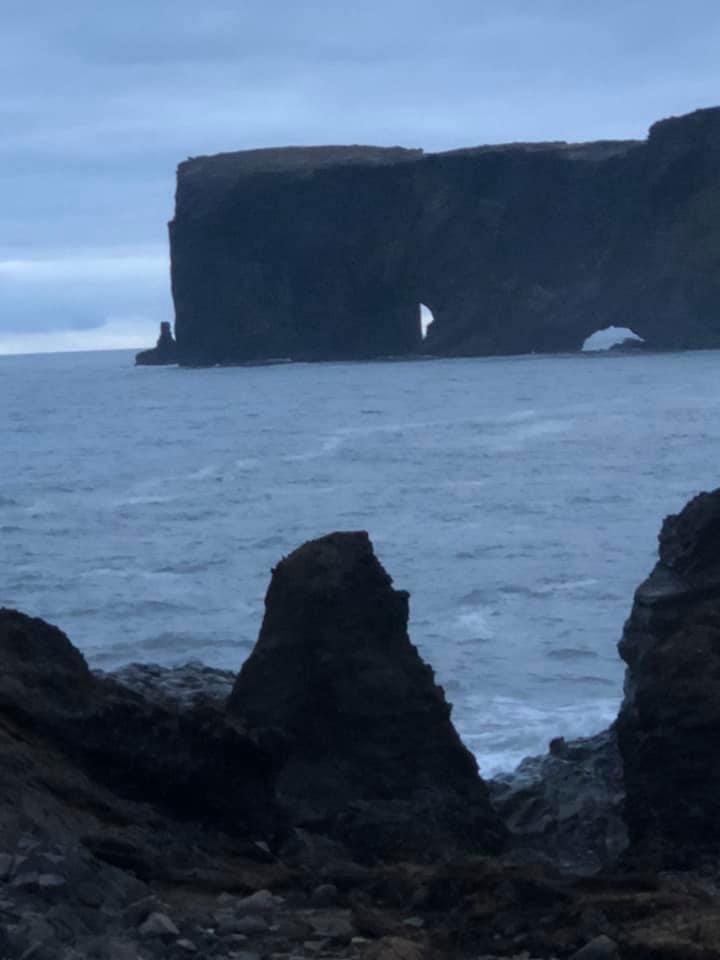 Dyrhólaey by Vík, Iceland